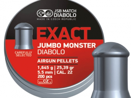 Dijabola JSB Exact Jumbo Monster 5.5mm 1/200