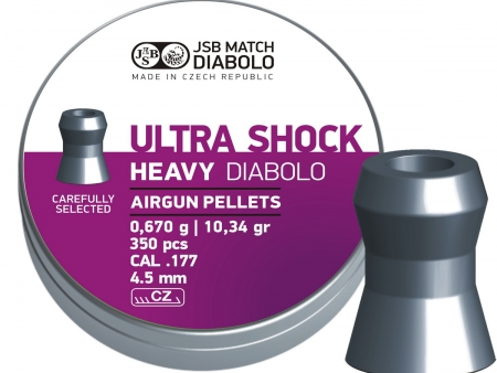 JSB Ultra Shock Heavy 4.5mm 1/350