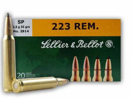 Metak Bellot 223 Rem SP 3.6g