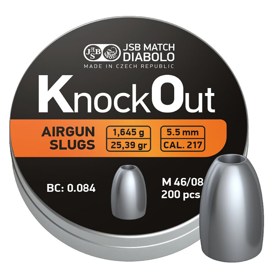 Dijabola JSB Knock Out Slug 5.5mm 1/200